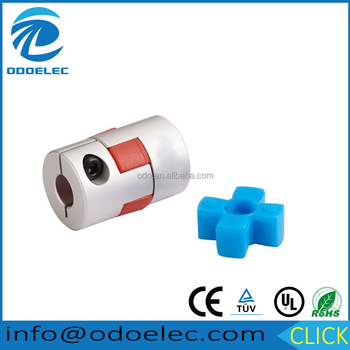 D25L30 Aluminum alloy plum flower clamp shaft couplings