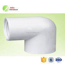 plastic pipe fitting for bathroom ASTM sch 40 pvc female elbow