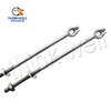 Forged Line Hardware Galvanized Finish Ground