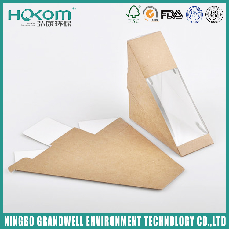 Various Good Quality Triangle Sandwich Box For Packaging