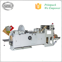 Automatic brown kraft paper bag making machine for food