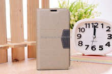 factory price best selling gift item fine craft leather flip phone case for Samsung Galaxy S5