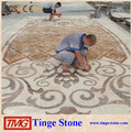Very beautiful marble flooring design made in China