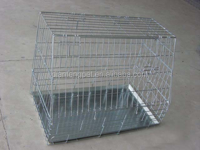 china cheap large steel iron dog cage for car
