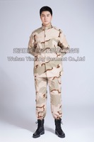 [Wuhan YinSong] 3 Color Desert Camouflage BDU Military Uniform from China mainland factory