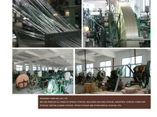 multi wire staple pin making machine/automatic staples production line/wire staples pneumatic machine
