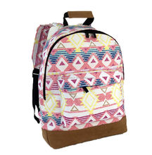 Hot Sales 14oz canvas backpack, School Backpacks For Teenage Girls ,Fashion women Bags stock backpack