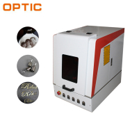 Chinese Supplier 20w 30w 50w Cnc Animal Ear Tag Jewelry Fiber Laser Marking Machine for Metal