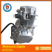 factory price motorcycle spare parts 125cc electric start engine