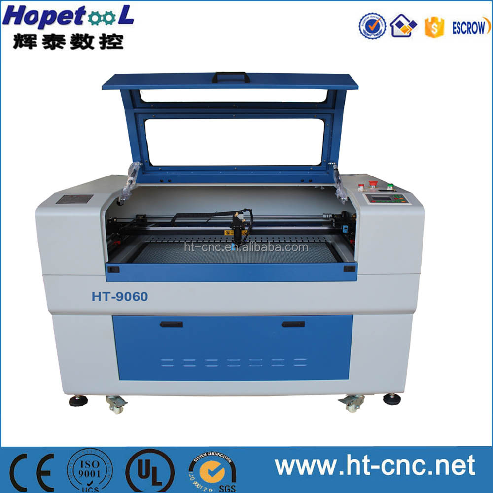 High efficiency 80 watt laser cutter with many spare parts