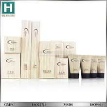New Design hotel amenities set bottle and tube / disposable hotel toiletries products