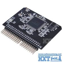 "SD SDXC MMC Memory Card to IDE 2.5"" 2.5 Inch 44P 44 Pin Male Adapter Converter"