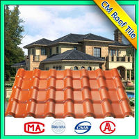 Construction Synthetic Resin Polymer Roof Tile For 3-Tab Asphalt Tile