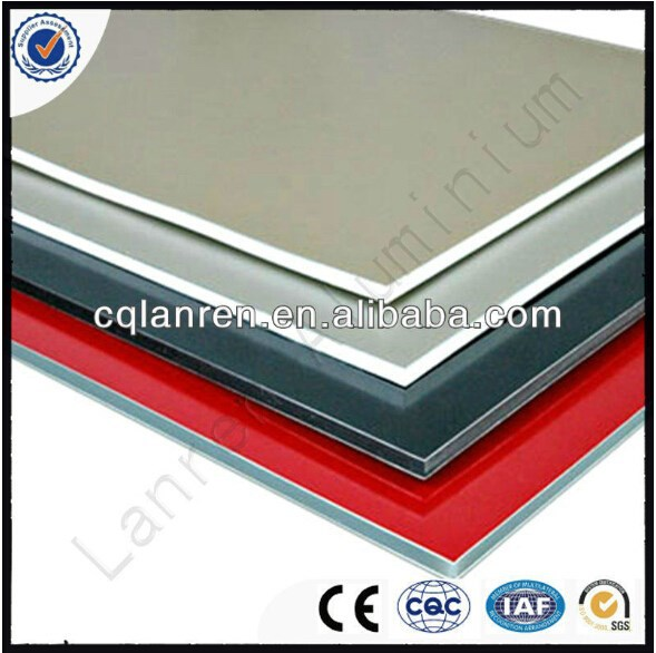 Building materials acp sheet 4mm aluminium composite panel wall cladding
