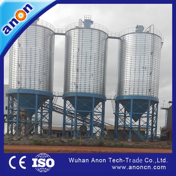 ANON China High Quality Grain Steel Silo for Corn Wheat Paddy Rice Storage