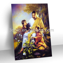 Hot selling handicraft religious 3d picture for decoration