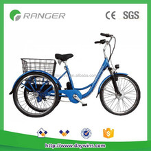 Good quality 36V or 48V 350W 3 wheel Electric Tricycle