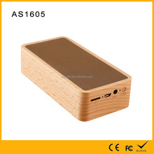 New natural hand-made private model wooden bluetooth speaker