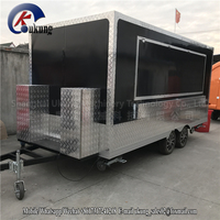 Ukung Ce Approved New Arrival Outdoor Mobile Food Trailer/ Street Mobile Food Cart/ China Factory Mobile Food Truck in hot sale