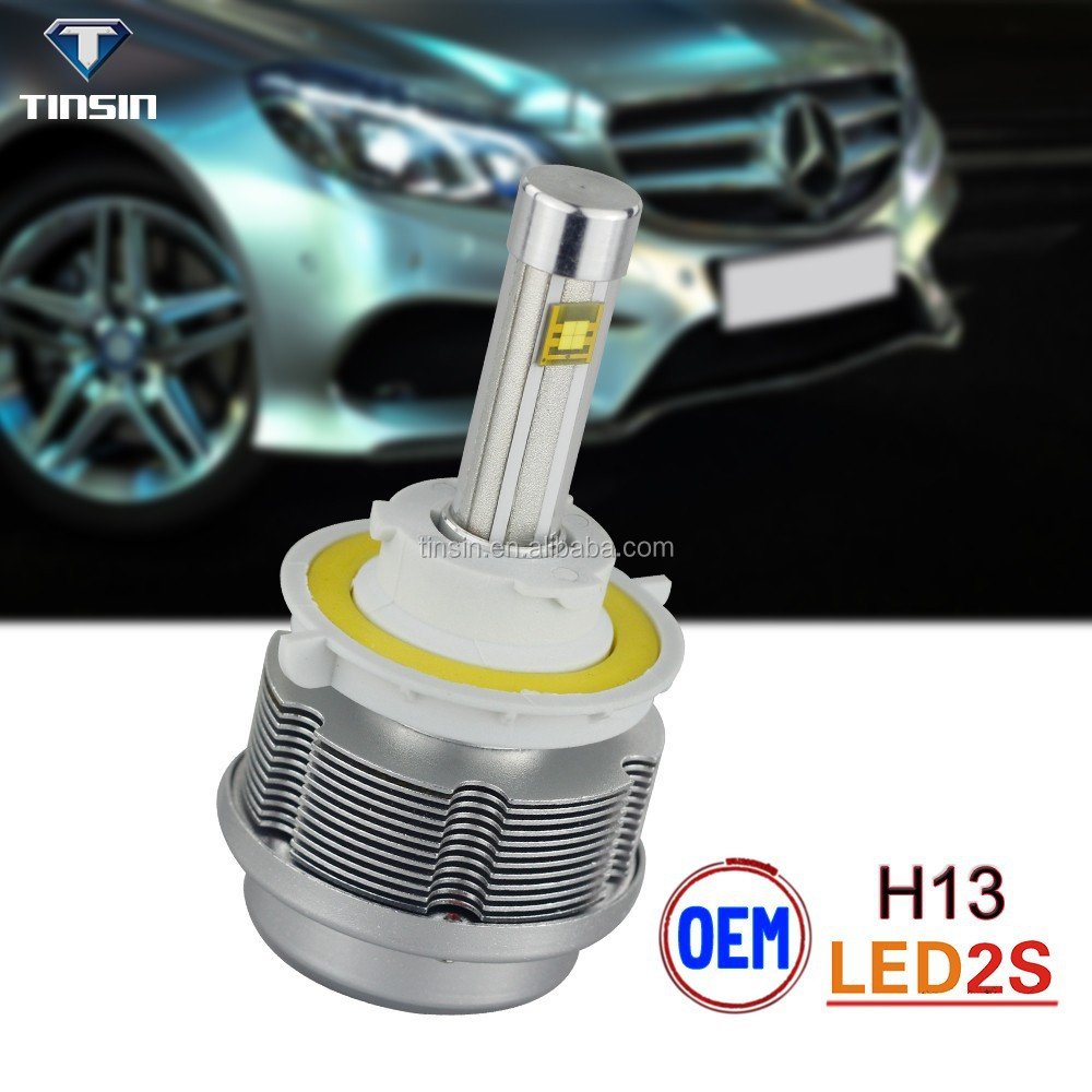 Tinsin 2S Hi/lo beam latest design renault duster headlight for Toyota headlight 3600lm