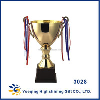 hot sale different size metal souvenir trophy