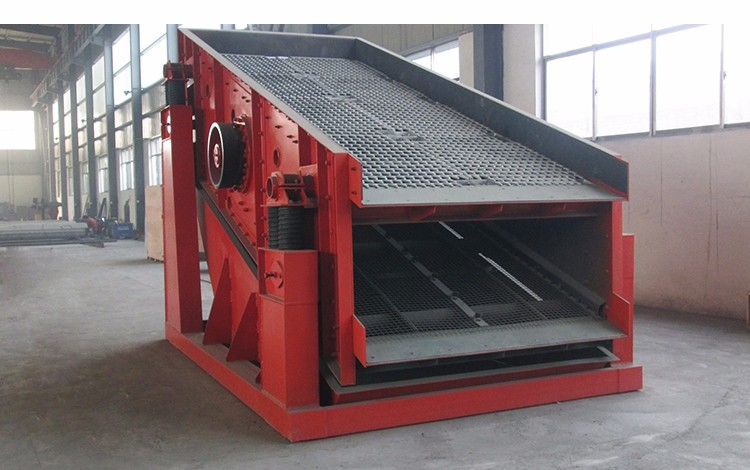 China good quality multi deck circular vibrating screen for sieving sand