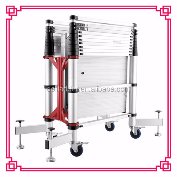 Adjustable Telescopic tower moving construction scaffolding ladder