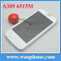 4.0 inch New arrival A309 Android 4.1.2 OS Dual-Core 256MB+512MB smartphone