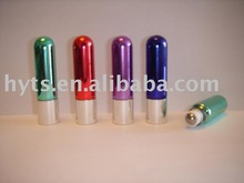 flash color glass roll on bottle with round bottom