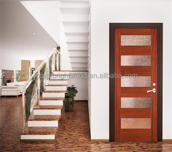 Drawing Room French Modern Wooden Single Door Designs