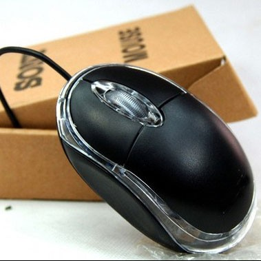 Custom OEM Cheap Mini 3 Keys 1000dpi Optical USB Wired Mouse for Laptop computer