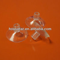 clear plastic cupule with top hole