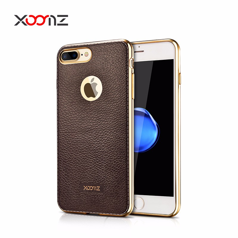 XOOMZ Slim Ultra Thin Soft TPU Mobile Phone Case for iPhone 7 7 plus Back Cover