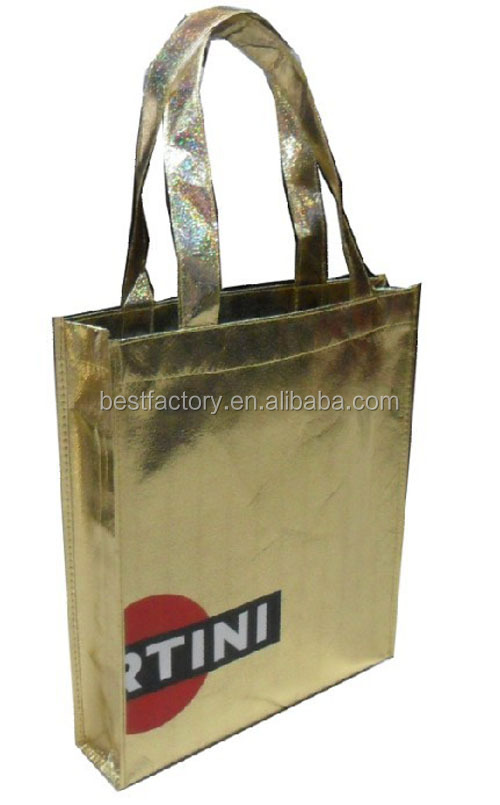 Custom printing 80gsmpp nonwoven bag for advertising and promotion, good shopping bag, good zipper style shopping bag