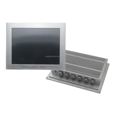15 inch fanelss industrial touch screen panel pc