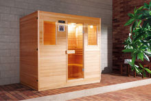 Infrared sauna FS-180105 with whole accessories