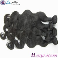 "Most Popular Large Stock Virgin Hair 12""-28"" black star hair weave"