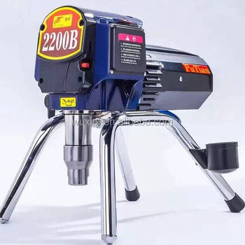 electric piston pump airless paint sprayer