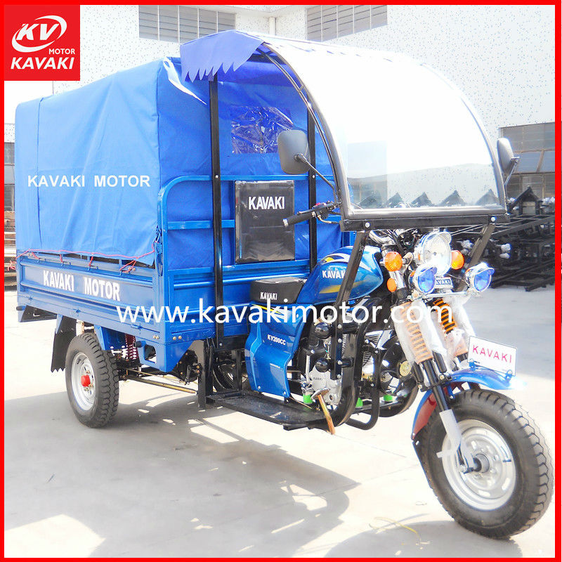 150CC 200CC Cargo Tricyle/ Tricycle Supplier Guangzhou KAVAKI MOTOR
