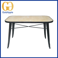 Modern Style commercial With imitate stone used restaurant table and chair