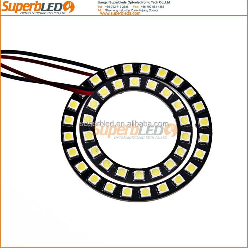 SMD5050 RGB color changing led halo ring angel eyes for Chery Automobile