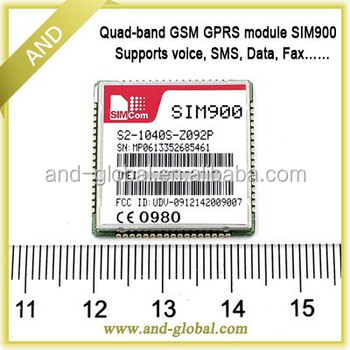 SIM900 Wireless module base station location