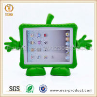Cute shape pretty thick shockproof EVA foam high quality kids case for ipad 2/3/4
