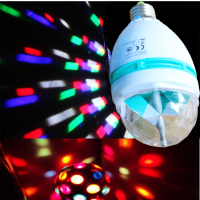 E27 Light Show LED Red Blue Green Projection multi change color laser light