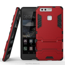 huawei mobile price pakistan for HuaWei P9 case with durable corner protect bumper TPU+PC accessories cover Koolife Iron bear