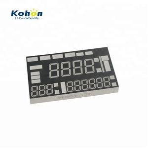 Instant Customized common cathode led display with red color seven segment led display