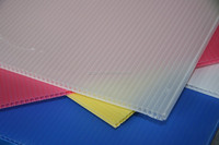 professional manufacture 8ftx4ft corona treated polypropylene pp plastic coroplast sheets price