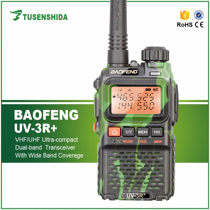 Chinese High Power vhf Mobile Walkie Talkie BAOFENG Radio Receiver UV-3R