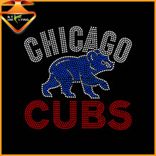 2016 Chicago cubs wholesale rhinestone transfers design