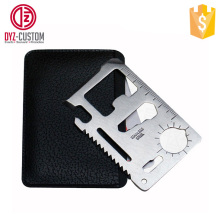 survival card multi tool 11 in 1 Multifunction Survival Pocket tool Card
